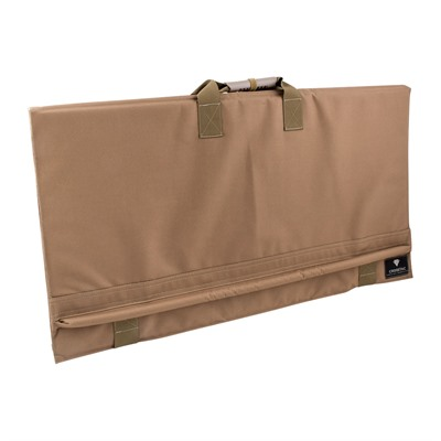 Crosstac Percision Long Range Shooting Mats - Precision Long Range Shooting Mat, Coyote Brown