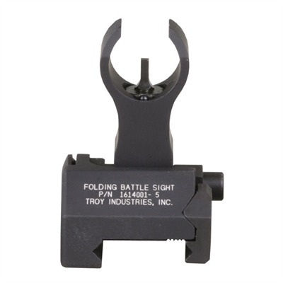 Troy Industries Ar 15 Flip Up Hk Style Front Sight 1 3 Flip Up Hk Style Front Sight Aluminum Black