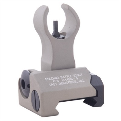 "Troy Industries Ar 15 Flip Up Hk Style Front Sight 1.3"" Flip Up Hk Style Front Sight Aluminum Dark Earth Online Discount"