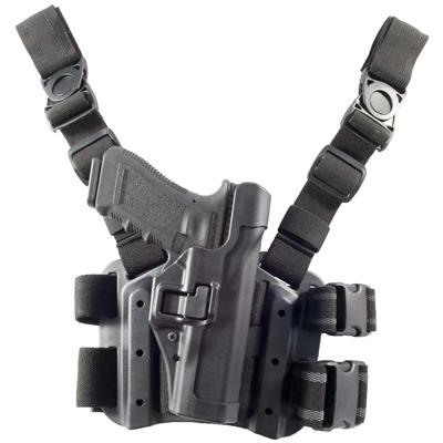 Tactical Serpa Carbon Fiber Holster for Glock~ Glock 17 / 19 / 22 / 23 / 31 / 32 Level 2 Serpa : Shooting Accessories by Blackhawk Industries for Gun & Rifle