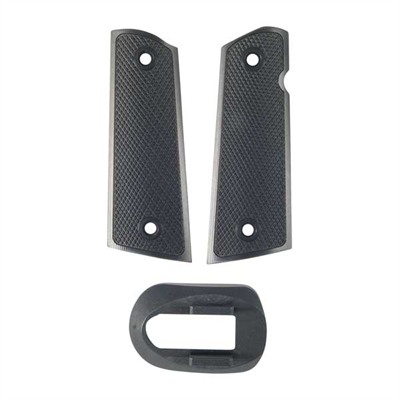 1911 Extended Magwell & Grips Kit - Xt Grip/Magwell Kit, Black