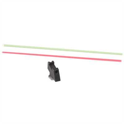 Warren Tactical Series Fiber Optic Front Sights For Glock - Fiber Optic, .215 X .115