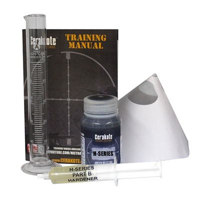 Nic Industries Cerakote Ovencure Ceramic Coatings - Cerakote Oven Cure Kit, Graphite Black
