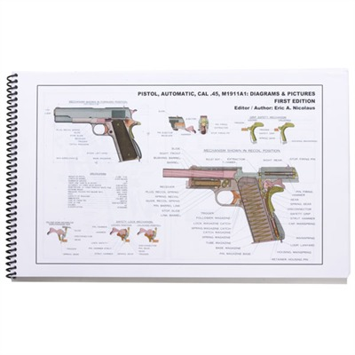 M1 Garand & M1911a1 Technical Diagram Manuals