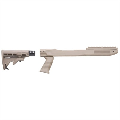 Ruger~ Semi-auto Rifle Fusion T6 Adjustable Stock Mini 14 / 30 Fusion Rifle Sys-fd Earth : Rifle Parts by Tapco Weapons Accessories for Gun & Rifle