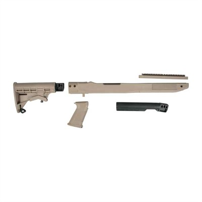 Ruger 10/22 Fusion T6 Stock Adjustable - Ruger 10/22 Fusion T6 Stock Adj Composite Dark Earth