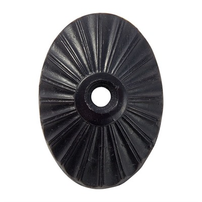 N.C. Ordnance Rifle Starburst European Grip Cap - Starburst European Grip Cap Black Polyurethane