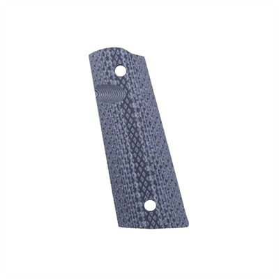 Mil-Tac Knives 1911 Tactical Grips - Tfb G10 Grips, Black/Gray
