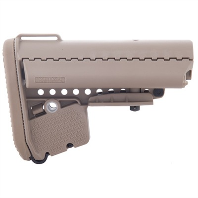 Ar-15 Emod Stock Assy Collapsible Commercial - Ar-15 Emod Stock Assy Collapsible Commercial Fde