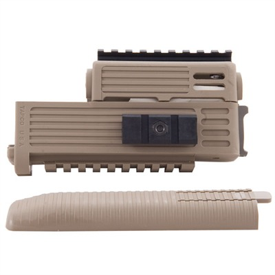 Ak-47 Intrafuse Quad Rail Handguard Ak47 Intrafuse Handguard-dark Earth : Rifle Parts by Tapco Weapons Accessories for Gun & Rifle