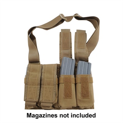 Grab & Go Magazine Pouch - Ar-15 Grab & Go Pouch Coyote Brown