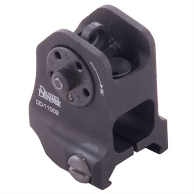 Daniel Defense 100-004-457 Ar-15/M16 Fixed Backup Rear Sight