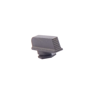 Ameriglo Serrated Front Sight For Glock - Front, Plain Serr, .165