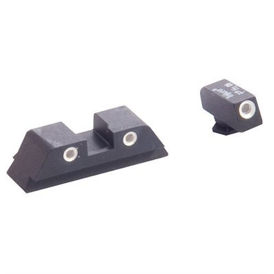 Classic Night Sight Sets For Glock® - Classic, G/G, Fits 17,19,22,23,24,26,27,33,34,35,37,38,39