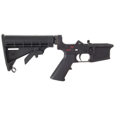 Ar-15 Complete M4 Lower Receiver - Complete Ar-15 Lower Receiver W/Buttstock