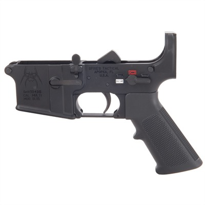 Ar-15 Complete Lower Receiver Less Stock