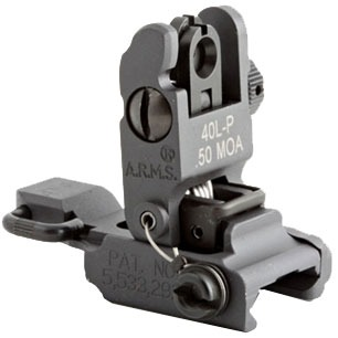 Ar-15/M16 Flip-Up Rear Sight - 40l-P Low Profile Sight