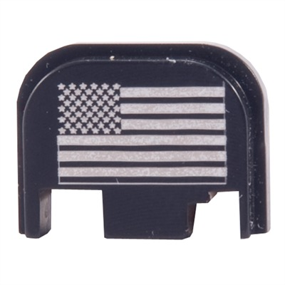 Tactical Supply Depot US Flag Slide Plate for Glock