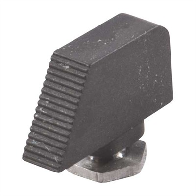 Black Front Sights For Glock® - Black Serrated, .245 X .125