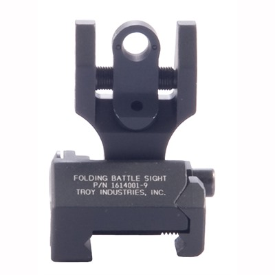 Troy Industries Ar-15  Tritium Hk-Style Rear Sight - Ar-15  Flip-Up Adj Tritium Hk-Style Rear Sight Black