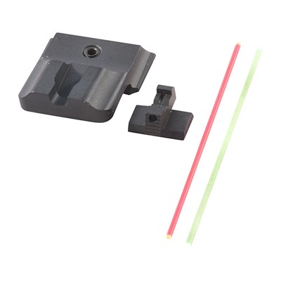 Warren Tactical Series S&W M&P Tactical Fiber Optic Sight Sets - Tactical-R, Fiber Optic-F, Fits Full/Compact