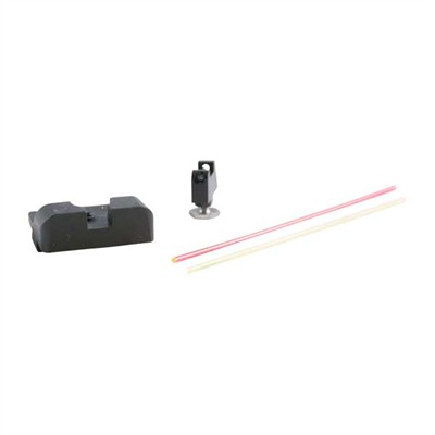 Sevigny Series Fiber Optic Sight Set For Glock~