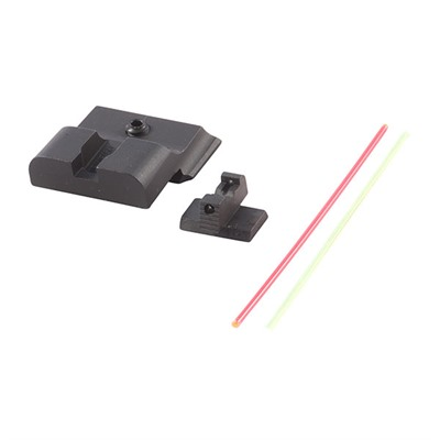 Warren Tactical Series S&W M&P Sevigny Fiber Optic Sight Sets - Sevigny Comp-R, Fiber Optic, Fits Full/Compact