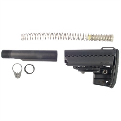 Ar-15 Imod Stock Assy Collapsible Mil-Spec - Ar-15 Imod Stock Assy Collapsible Mil-Spec Blk