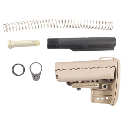 Ar-15 Imod Stock Assy Collapsible Mil-Spec - Ar-15 Imod Stock Assy Collapsible Mil-Spec Fde