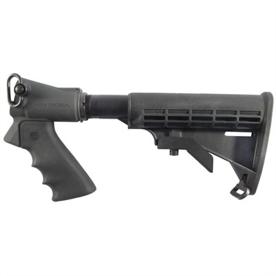 Mesa Tactical Products Remington 870/Mossberg 500 Telescoping Buttstock Kit - Leo Buttstock Conversion Kit, Rem 870