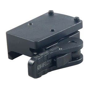 American Defense Manufacturing Trijicon Rmr Mounts - Trijicon Rmr Low Mount, Right Hand