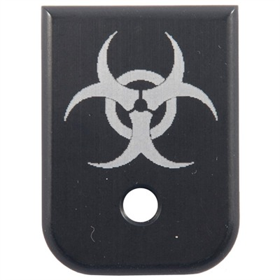 Tactical Supply Depot S&W M&P Logo Extended Mag Pad - S&W M&P .45 Acp, Bio-Hazard