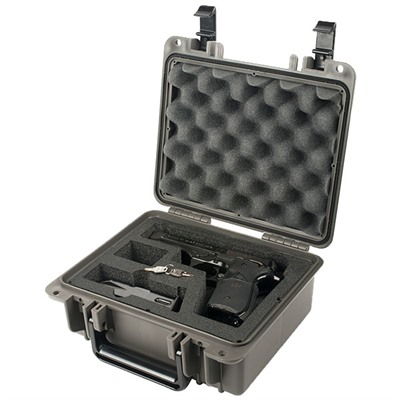 Seahorse Se300 Cases - Se300fp1ml Single Pistol Case W/Foam & Metal Locks