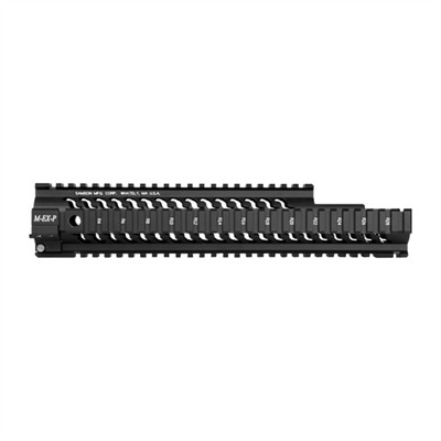 Ar-15/M16 Star Handguards - Tactical Accessory Rail System 12in Black