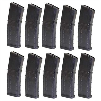 Ar 15/M16 Pmag Polymer Magazine 10 Pak 30rd Pmag Black 10 Pack Discount