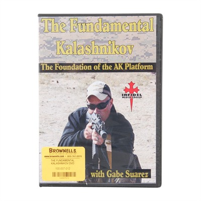One Source Tactical 100-007-012 The Fundamental Kalashnikov Dvd