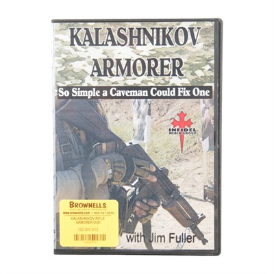 One Source Tactical 100-007-013 Kalashnikov Rifle Armorer Dvd