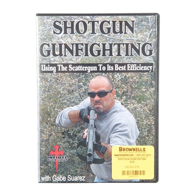 One Source Tactical 100-007-015 Shotgun Gunfighting Dvd