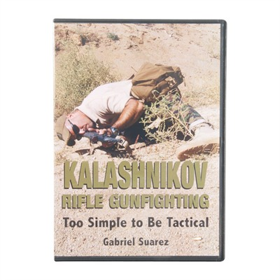 One Source Tactical 100-007-016 Kalashnikov Rifle Gunfighting Dvds