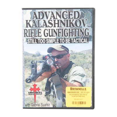 One Source Tactical 100-007-017 Kalashnikov Rifle Gunfighting Dvds