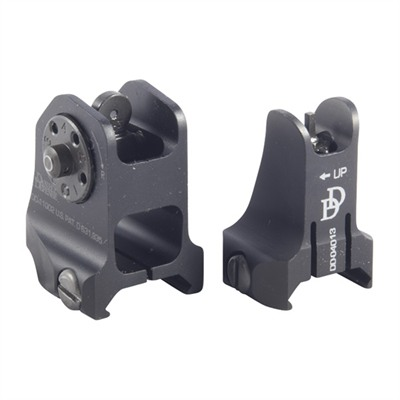 Ar-15/M16 Fixed Backup Sight Set
