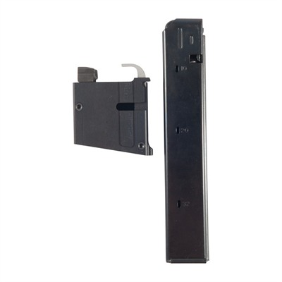 Brownells Ar-15/M16 9mm Drop-In Conversion Blocks W/32rd Magazine - 9mm Top Loading Conversion Block W/ 32-Rd Magazine
