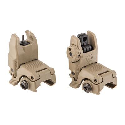 Magpul Ar-15  Mbus Gen 2 Sight Set - Ar-15  Flip-Up Mbus Gen 2 Sight Set Dark Earth