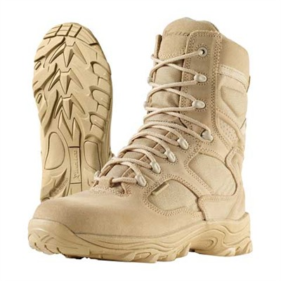 "8"" X 4orce Combat Boots Tan Size 11 1/2r Discount"