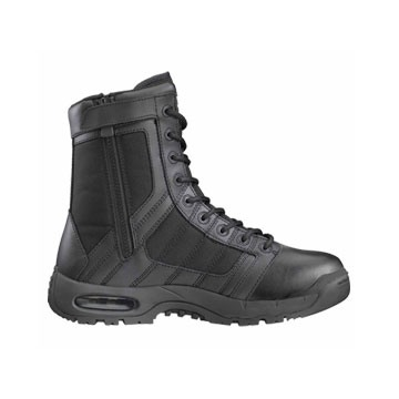 "Air 9"" Side Zip Metro Traction Tactical Boots Air 9"" Side Zip Metro Traction Boots Black Size 9 1/2 Discount"