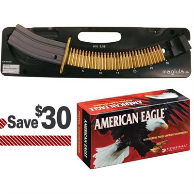 Buy Brownells Maglula Benchloader & 1000 Rounds Of 5.56 Ammo Pack