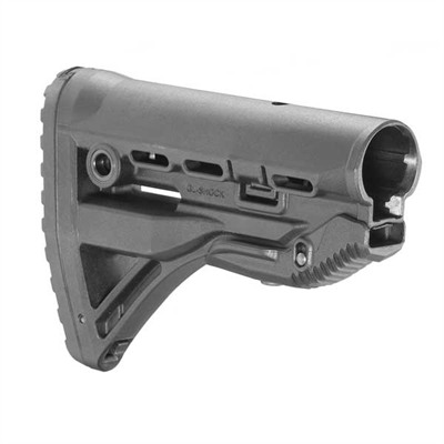 Ar-15/M16 Gl-Shock Recoil Reducing Commerical Buttstocks