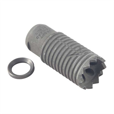 Troy Industries Ar 556 Claymore Muzzle Brake 22 Caliber - Claymore Muzzle Brake 22 Caliber 1/2-28 Steel Black