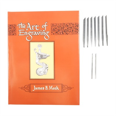The Art Of Engraving By James B. Meek - James B. Meek Beginner's Engraving Kit & Book