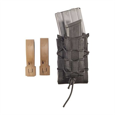 Magazine Carrier Double Decker Taco Molle Mount - Double Decker Taco Mag Pouch Black